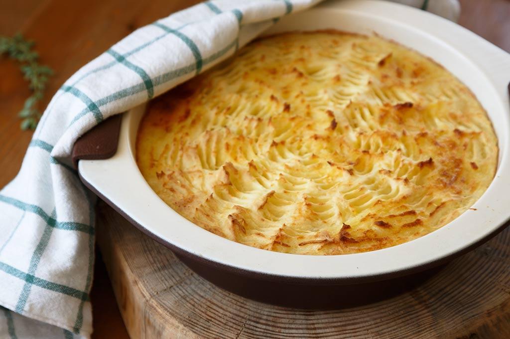 immagine torta patate e pecorino