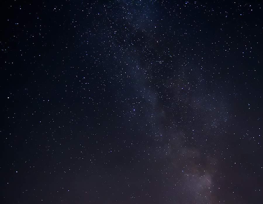 immagine di un cielo stellato
